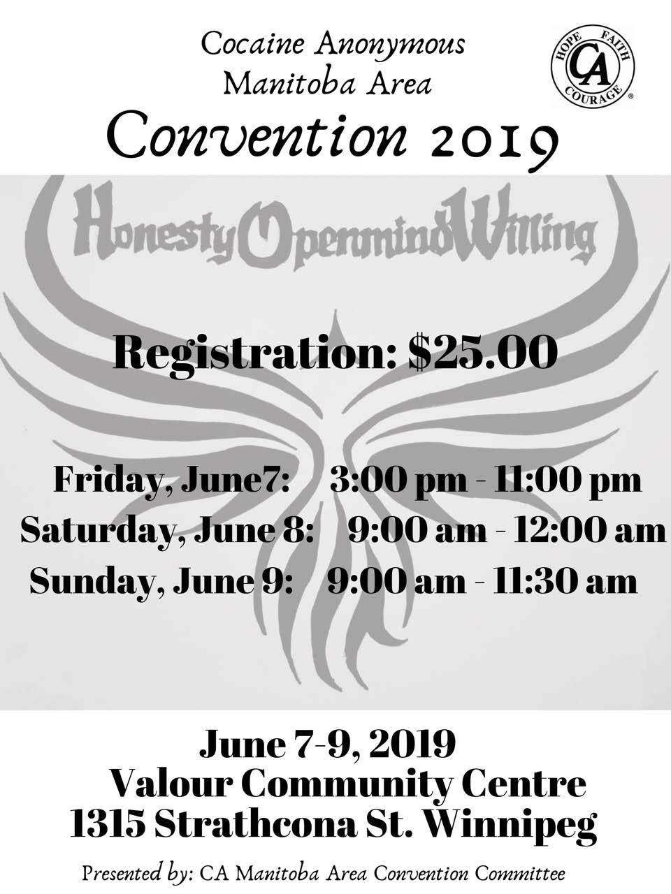 Convention | Cocaine Anonymous of Manitoba
